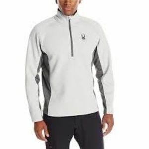 Spyder Men's Outbound Half-Zip Sweatshirt Gray M
